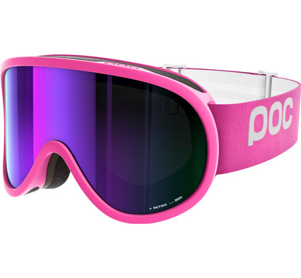 POC Retina Ethylene Pink + Grey Purple Mirror Lens
