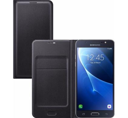 Samsung Galaxy J5 (2016) Flip Wallet Zwart