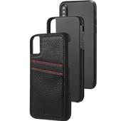 Case-Mate Tough ID Apple iPhone X Back Cover Zwart