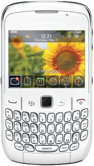 BlackBerry Curve 8520 White QWERTY