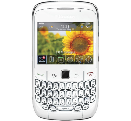 BlackBerry Curve 8520 White Vodafone Prepaid