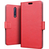 Just in Case Wallet Nokia 8 Book Case Rood