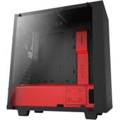 NZXT S340 Black / Red Elite