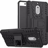 Just in Case Rugged Hybrid Nokia 8 Back Cover Zwart