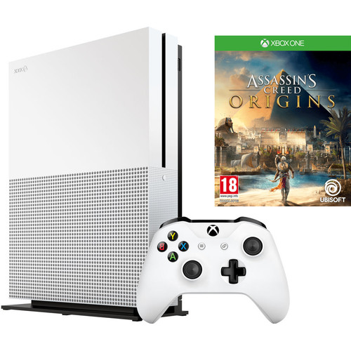 Microsoft Xbox One S 500 GB Assassin's Creed Origins Bundel