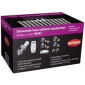 Best Design Universele Luxe Radiatoraansluitset Midden-Onder-Haaks