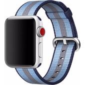 Apple Watch 38mm Nylon Woven Horlogeband Blauw