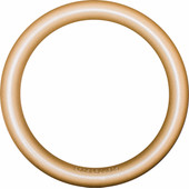 Podspeakers MiniPod Ring Aluminium Goud