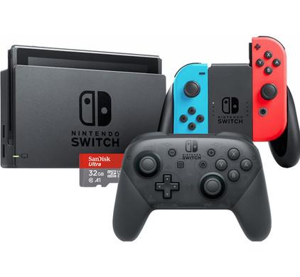 Nintendo Switch Startpakket Thuis