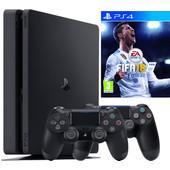 Sony PlayStation 4 Slim 1 TB FIFA 18 Dualshock Bundel