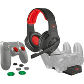 Trust PS4 pakket (Gaming Headset + Thumb Grips + Laadstation)