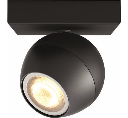 philips hue buckram spot zwart coolblue. Black Bedroom Furniture Sets. Home Design Ideas