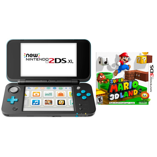 Nintendo 2DS XL + Super Mario 3D Land bundel