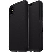 Otterbox Strada Apple iPhone X Book Case Zwart