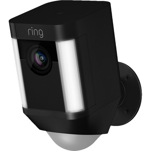 Ring Spotlight Cam Battery Zwart