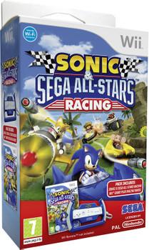 Sonic sega all stars racing sonic racing stuur wii