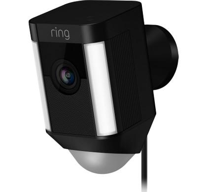 Ring Spotlight Cam Wired Zwart