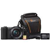 Starterskit - Sony Alpha A5100 Zwart + 16-50mm