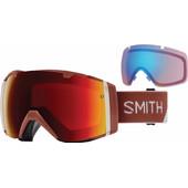 Smith I/O Adobe Split + Sun Red Mirror & Storm Rose Flash Lenzen