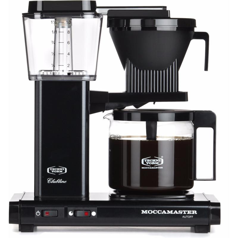 Moccamaster Filterkoffiemachine KBG741 AO Zwart