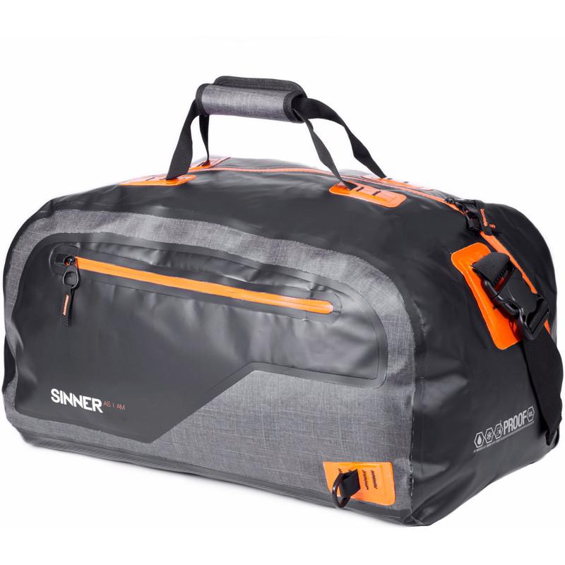 Sinner Melone Duffle Bag Black/Grey/Orange