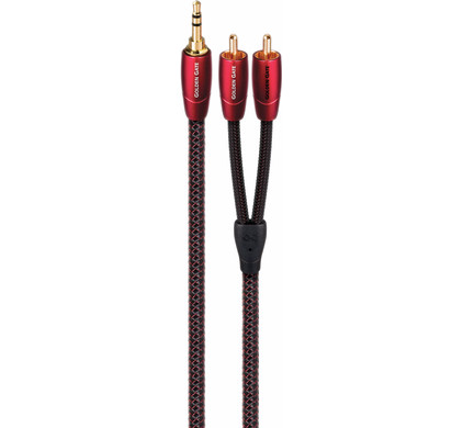AudioQuest Golden Gate 3,5 mm naar RCA 1 meter