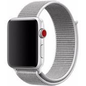 Apple Watch 42mm Nylon Sport Loop Horlogeband Wit