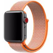 Apple Watch 38mm Nylon Sport Loop Horlogeband Oranje
