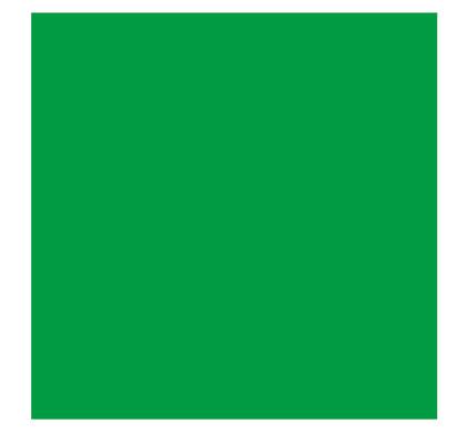 Falcon Eyes Achtergrondpapier 46 Chroma Green 1,35x11 m