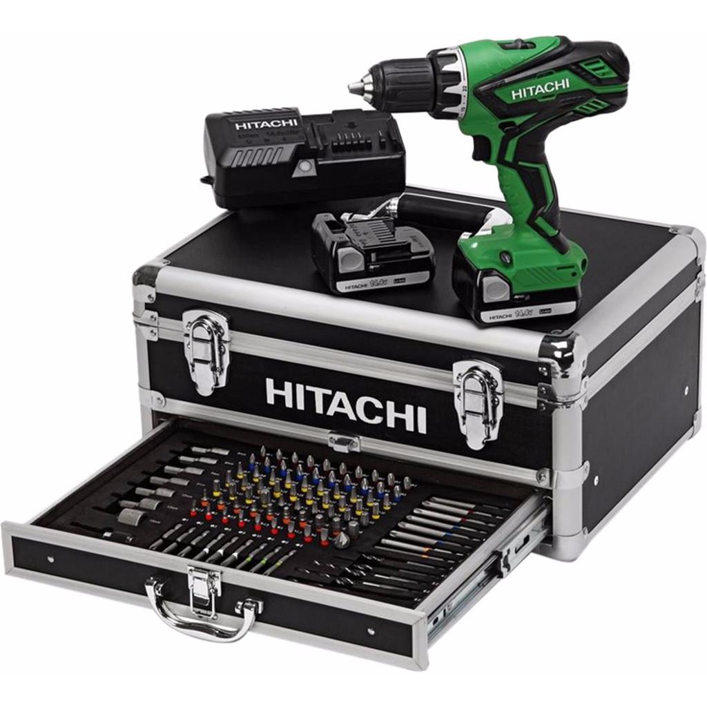 Accu-boorschroefmachine DS14DJL 14,4V 1,5Ah in alum.koffer met 100-dlg accessoires (per stuk)