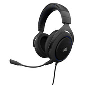 Corsair HS50 Stereo Gaming Headset Blauw