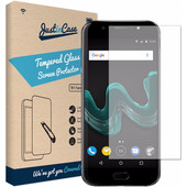 Just in Case Wiko Wim Screenprotector Gehard Glas