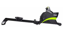 Ergometer rowing machines