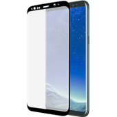 Azuri Samsung Galaxy S8 Screenprotector Curved Gehard Glas Duo Pack