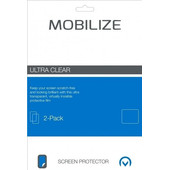Mobilize Wiko View Screenprotector Plastic Duo Pack