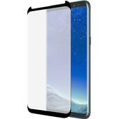 Azuri Samsung Galaxy S8 Screenprotector Curved Gehard Glas Zwart