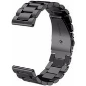 Just in Case Samsung Gear Sport RVS Horlogeband Zwart