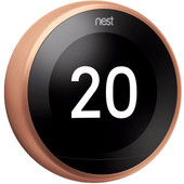 Nest Learning Thermostat V3 Premium Koper