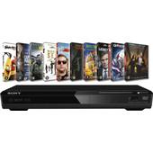Sony DVPSR370 + 10 films