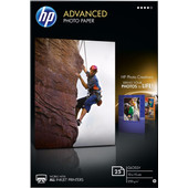 HP Advanced Glossy Fotopapier 25 vel 10 x 15 cm
