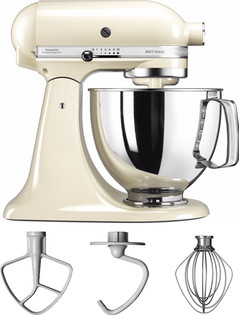 kitchenaid artisan mixer 5ksm125 amandelwit coolblue. Black Bedroom Furniture Sets. Home Design Ideas