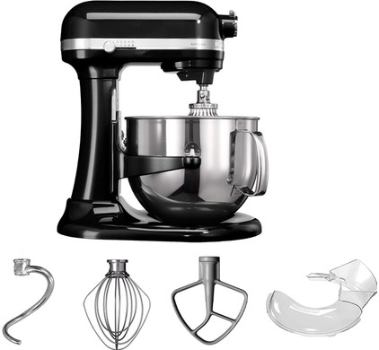 KitchenAid Artisan Mixer Bowl-Lift Onyx Zwart