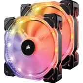 Corsair HD140 RGB LED Double Pack