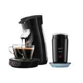 Philips Senseo Viva Café Zwart HD7829/60 + Melkopschuimer