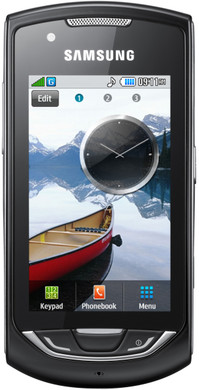 Samsung S5620 Monte WiFi Deep Black