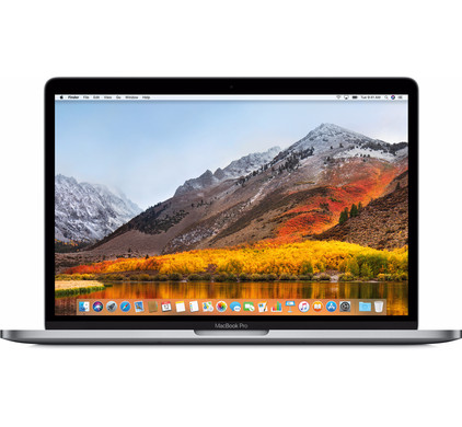 voorkant MacBook Pro 13'' (2017) Space Gray