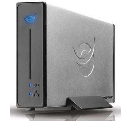 Conceptronic 3,5'' Netwerkbehuizing met USB2.0 voor SATA HDD