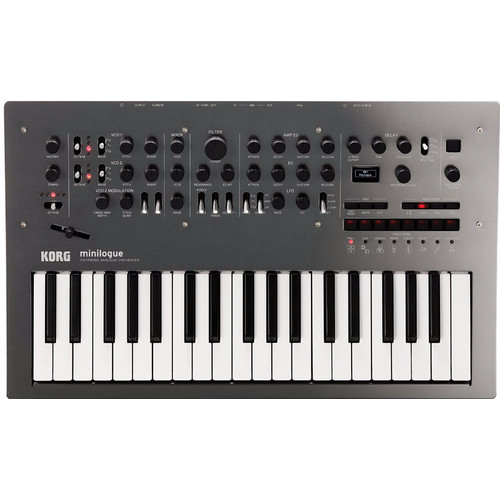 Korg Minilogue Polished Grey (Special Edition)