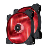 Corsair SP140 High Static Pressure Edition Red LED 2 Pack