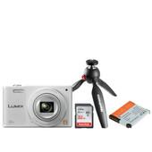 Vlogkit voor de beginner - Panasonic Lumix DMC SZ10 wit
